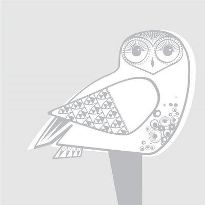 Final Snowy Owl Silver ai