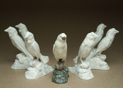 Sparrowfigurines
